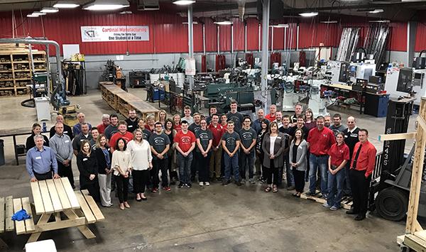 Cardinal Manufacturing Tour