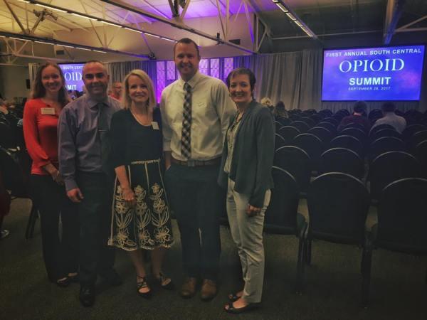 ROI Staff at Opioid Summit