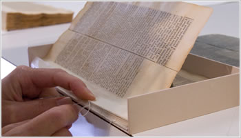 Conservation of the Jefferson Bible