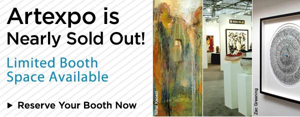 Exhibiting for Artexpo New York 2012
