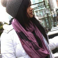 """Tablemanners"" Infinity Scarves!"