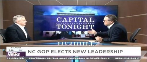 QUICK CLIP: New NCGOP Chair Declines to Support Incumbent GOP Senator Tillis