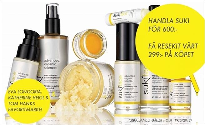 Gåva från Suki Skin Care