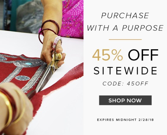 Purchase with a Purpose - 45% OFF SITEWIDE