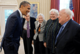 Dr. Richter Meets with President Obama