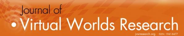 Journal of Virtual Worlds Logo