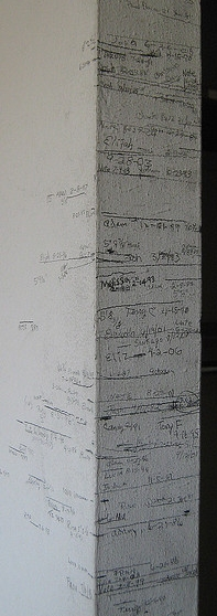 Growth Chart on Wall