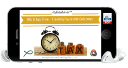 dealing with tax time and IRS mp3