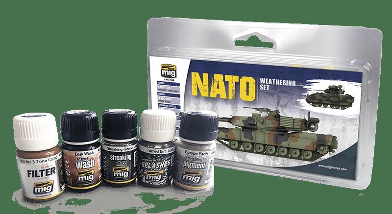 A.MIG-7446 SET DE METEOROLOGÍA DE LA OTAN