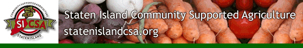 Staten Island Community Supported Agriculture, visit statenislandcsa.org