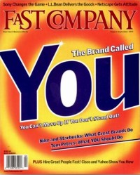 Fast Company magazine - the brand called you
