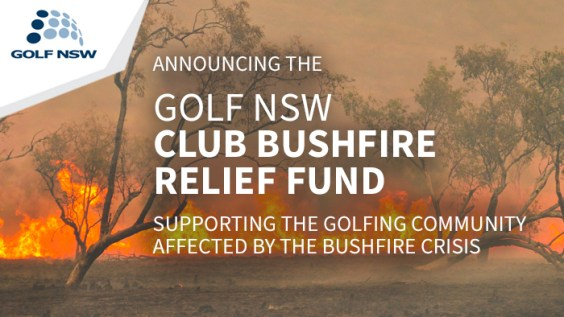 Golf NSW Bushfire Relief Fund