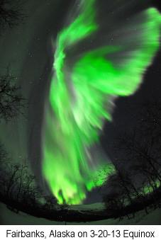 aurora borealis equinox 2013