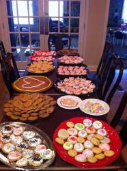 Photo: Cookies at Ronald McDonald House