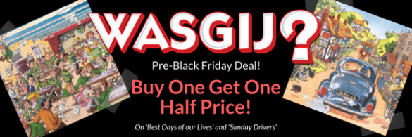 WASGIJ Black Friday Jigsaw Puzzle Deal