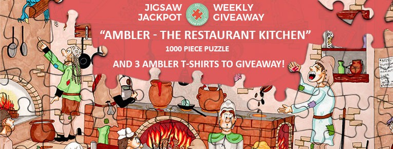 Ambler Facebook Competition - Puzzle and T-shirt giveaway