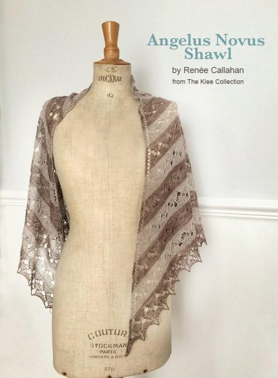 Angelus Novus shawl in new BEYUL lace
