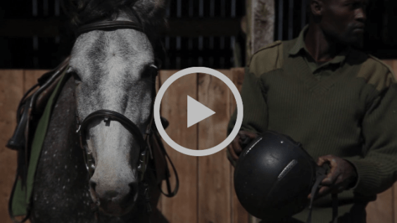 Mount Kenya Trust Horse Patrol Team