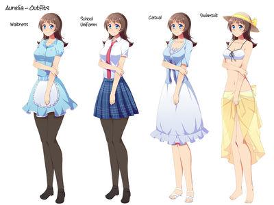 Aurelia's Outfits