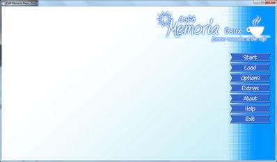 CMD - Main menu GUI