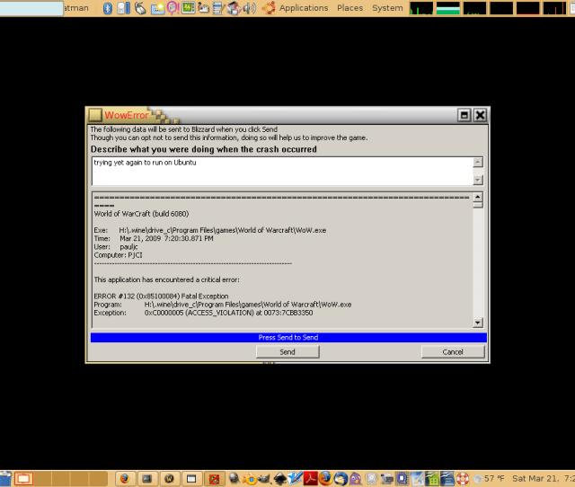 Howto Wow With Wine Help Ubuntu Com Community Worldofwarcraft Archive Page 8 Ubuntu Forums