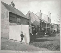 Rear of Nos 1-5 Campbell Street, Sydney, c.Jul 1900. Digital ID 12487_a021_a021000049