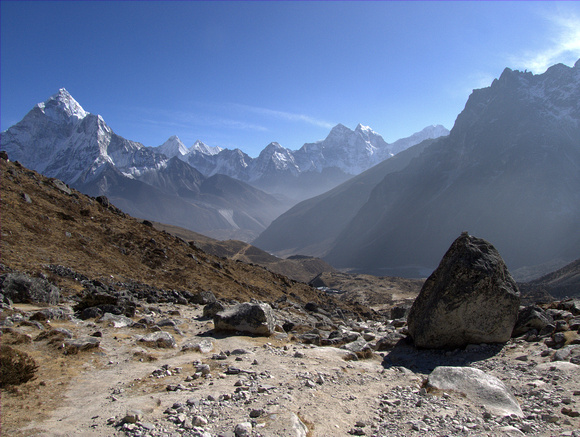 View of Himalayan Mountains