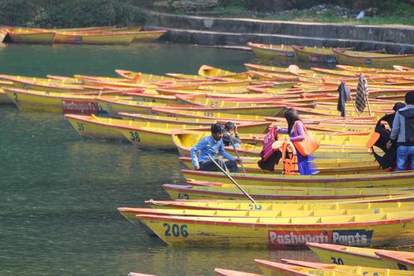 Boating in Nepal