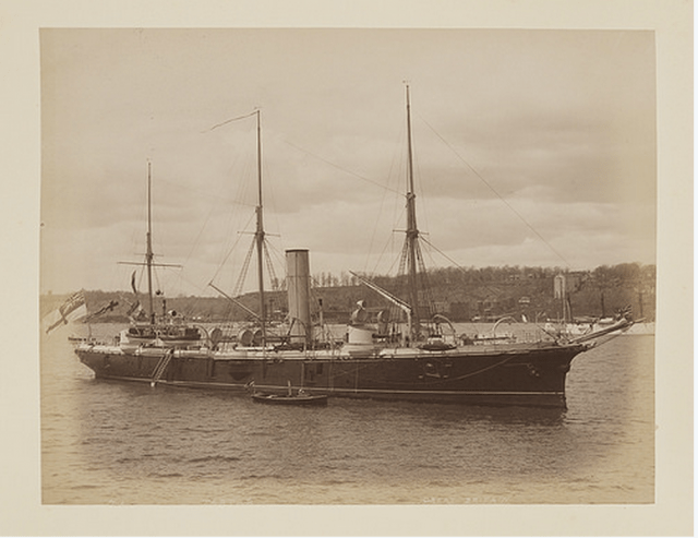 stock archival photo of a ship