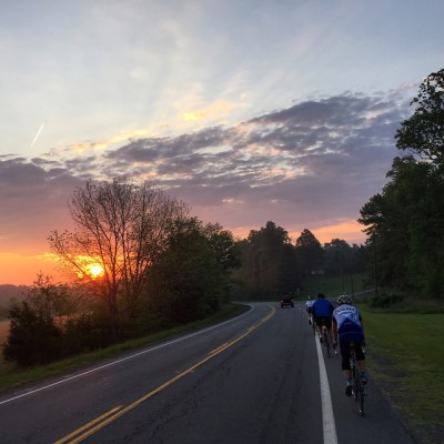 Wednesday Morning bike ride in Crozet