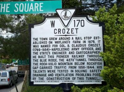 Crozet - train town
