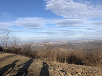 Riding the Skyline Drive with friends