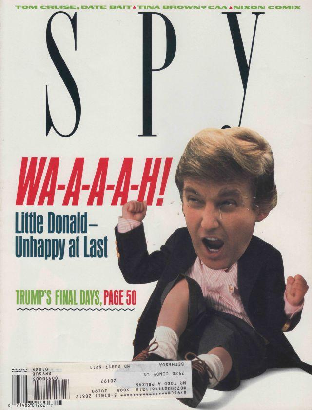 Spy magazine August 1990