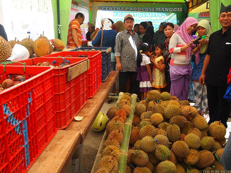 Banyuwangi Durian Stall