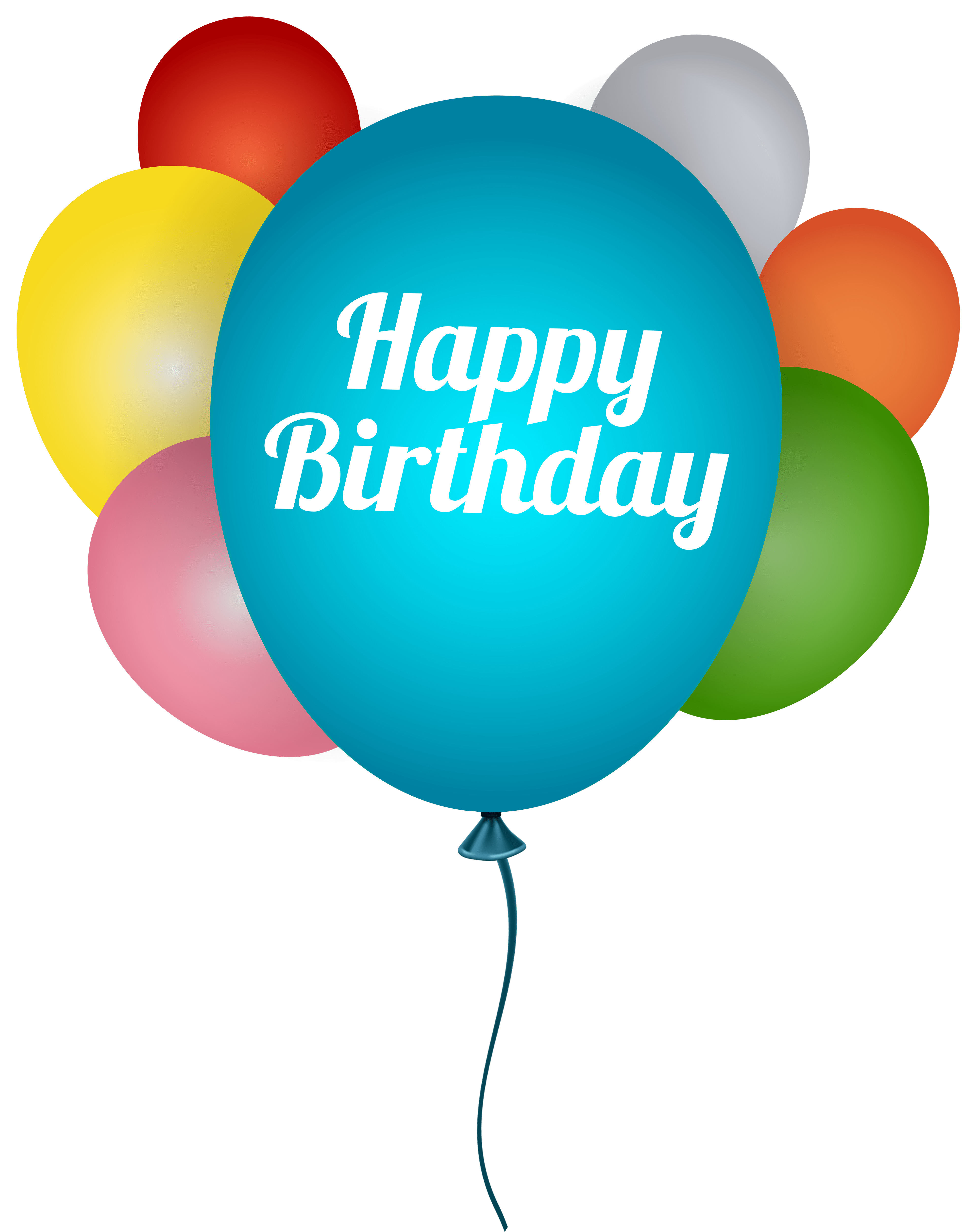 Happy Birthday Balloons Transparent Png Clip Art Image Gallery Yopriceville High Quality Images And Transparent Png Free Clipart