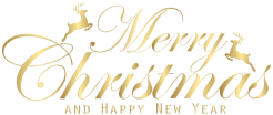 This png image - Merry Christmas Gold Transparent Clip Art Image, is available for free download