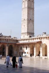 Aleppo's main mosque
