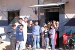 The whole group in Taftanaz