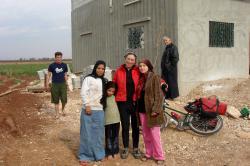 Visiting Wafa