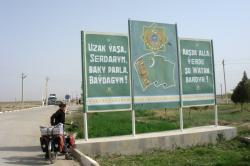 Welcome to Turkmenistan!