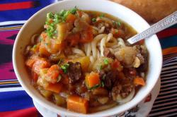 Laghman Noodle Soup