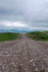 A very rocky road to the Kyrgyz border