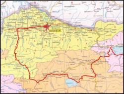 Karakol to Bishkek: Bike Touring Route