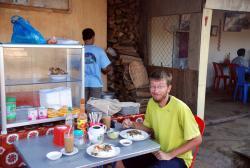 Andrew's breakfast in Chulong