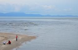 Fishermen near Pakmeng Beach