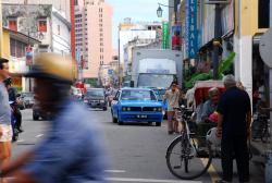Malacca street scene