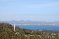 The shot tower, near Hobart