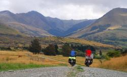 Just the two of us, off to the Mavora Lakes