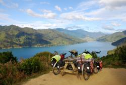 The trails are where the great cycling is at in NZ