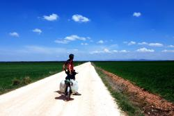 22-Andrew on the road to Lerma.jpg